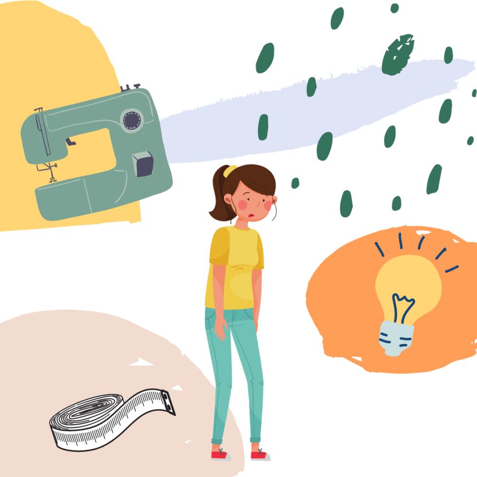 Nähtiefs überwinden: einfach raus aus dem kreativen Tief
